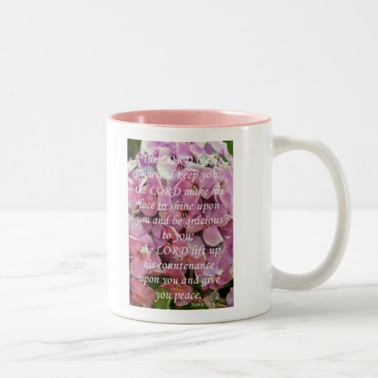 Number's 6 Two-Tone coffee mug