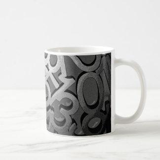 Numbers Coffee Mug