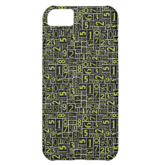 Numbers Cover For iPhone 5C