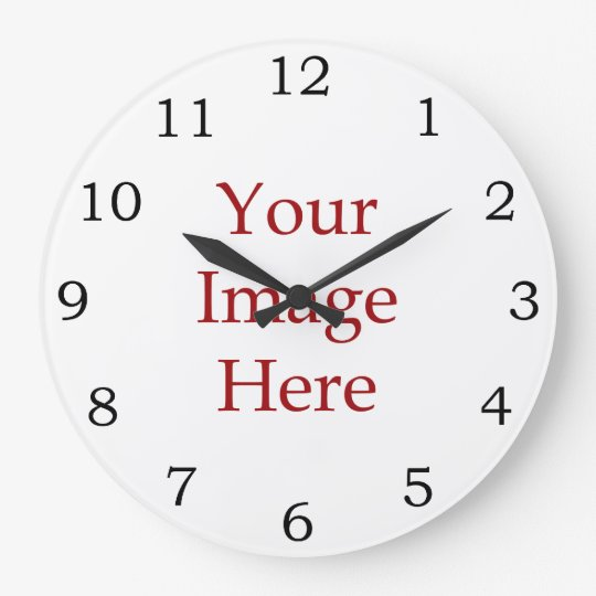 Numbers Create Your Own Large Clock