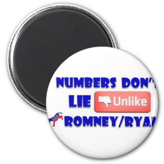 Numbers Don't Lie Unlike Romney/Ryan Magnet