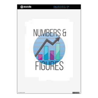 Numbers & Figures Skins For The iPad 2