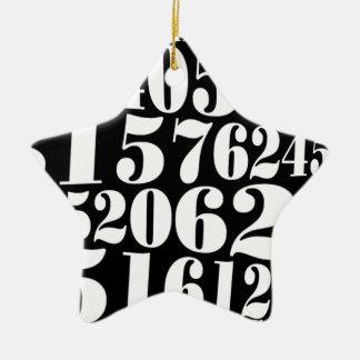 Numbers gift ornamento para reyes magos