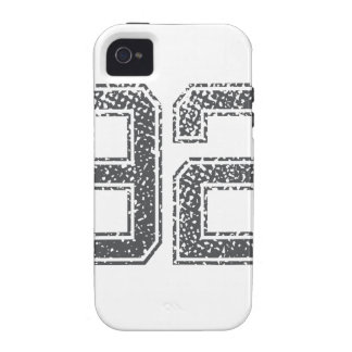 Numbers Gray_92.png iPhone 4/4S Cases