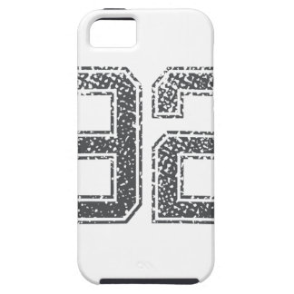 Numbers Gray_92.png iPhone 5 Cover