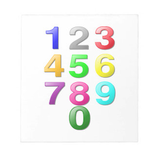 Numbers Image Notepad