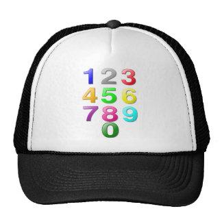 Numbers Image Trucker Hat
