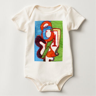Numbers In Love Baby Bodysuit