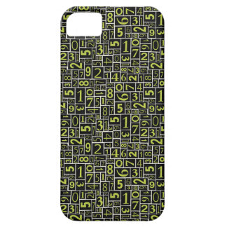 Numbers iPhone SE/5/5s Case