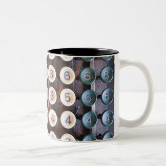 Numbers Two-Tone Coffee Mug