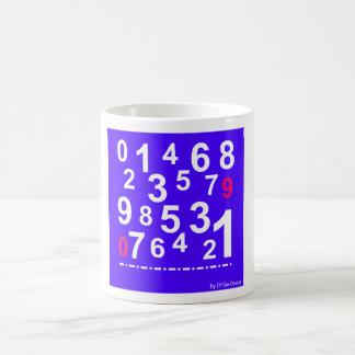 Numbers Mug