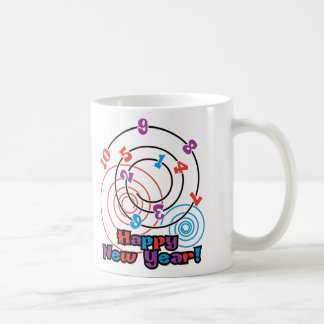 Numbers New Year Classic White Coffee Mug