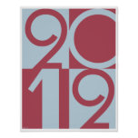 Numbers of 2012 posters