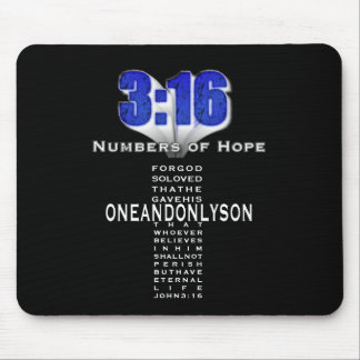 Numbers of Hope 3 16 Mouse Mat