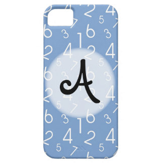 Numbers Pattern iPhone SE/5/5s Case