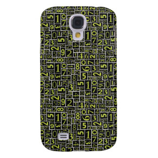 Numbers Samsung S4 Case