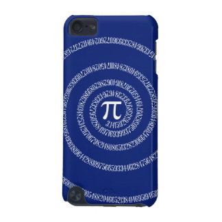Numbers Spiral for Pi on Navy Blue iPod Touch 5G Case