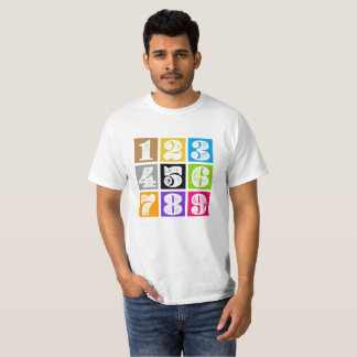 numbers… T-Shirt