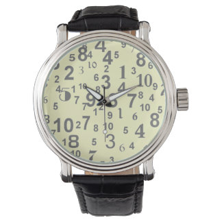 Numbers Watches