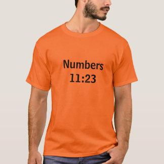 Numera 11:23 playera