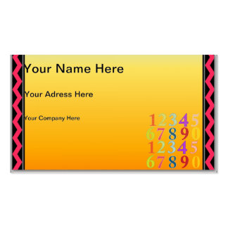 Numerals Business Card