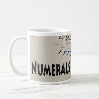 Numerals Mug