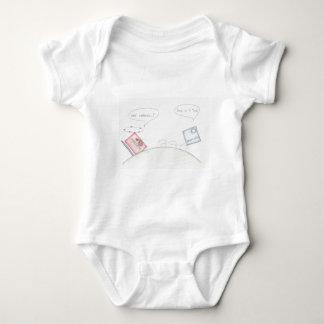 Numerator Vs Denominator Baby Bodysuit