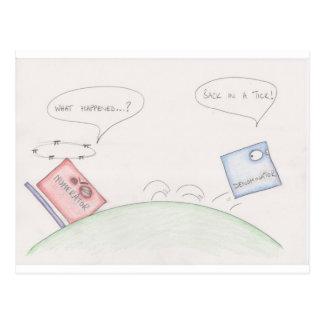 Numerator Vs Denominator Postcard