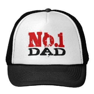 Numere 1 regalo del día de padres de no. 1 del gorra