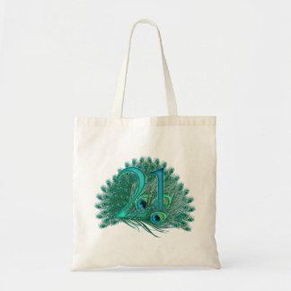 Numere los 21-21ros bolsos del aniversario de birt bolsas