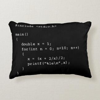 Numerical Programming Decorative Pillow