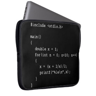 Numerical Programming Laptop Sleeve