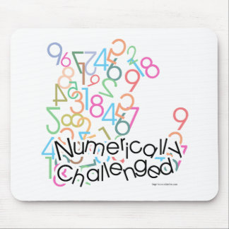 Numerically Challenged Mouse Pad