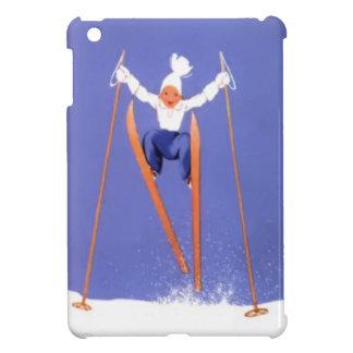 Numeritos en los esquís iPad mini carcasa