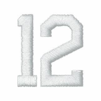 Número 12 polo bordado