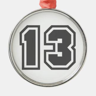 Número 13 ornamentos de reyes magos