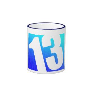 Número 13 tazas de café