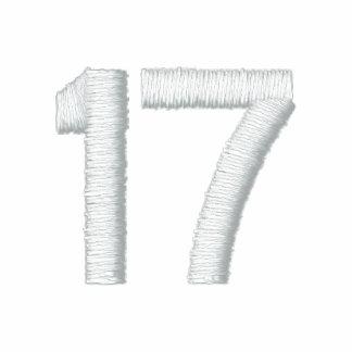 Número 17 camiseta polo