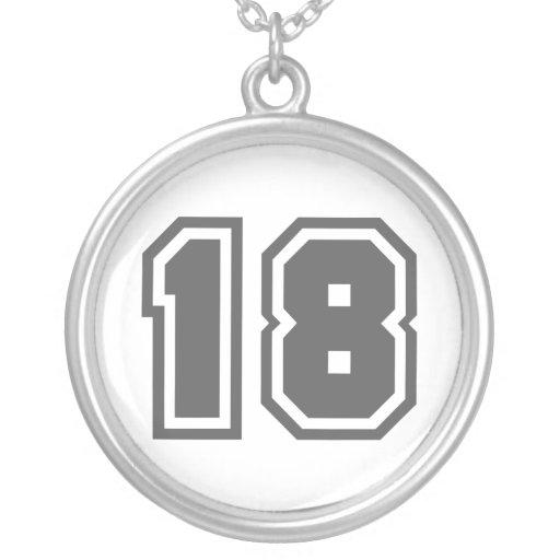 Número 18 grimpola