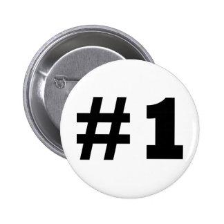 número 1 pins