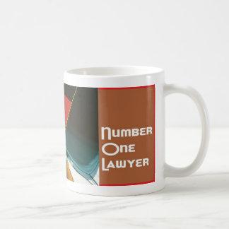 Número 1 una taza del té de Java del café del abog
