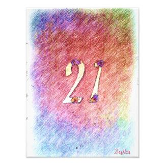 número 21 fotografía