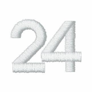 Número 24 polo bordado