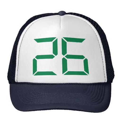 Número - 26 gorra