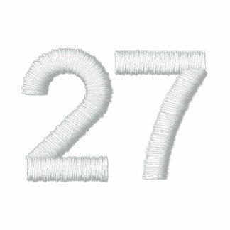 Número 27 polo bordado