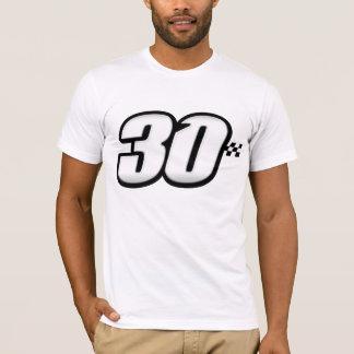 Número 30 playera