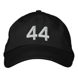 Número 44 gorra de beisbol