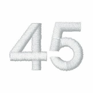 número 45 camiseta polo