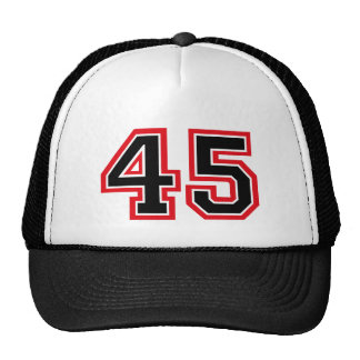 """Número """"45"""" gorro de camionero"""