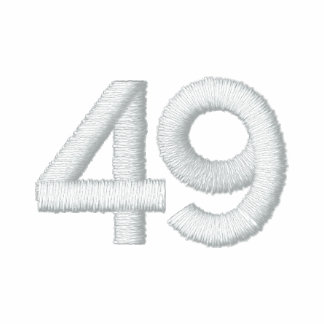 número 49 camiseta polo